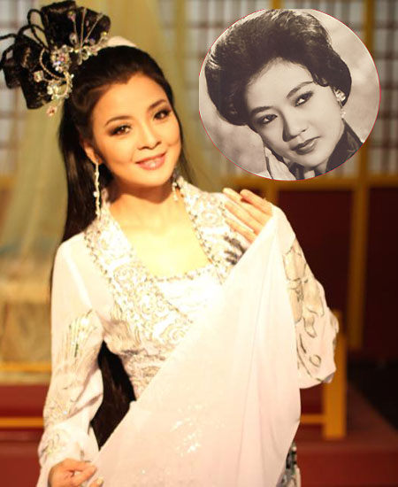 Hồng Loan được nhận xét là hậu duệ xứng đáng của cố Nghệ sĩ Ưu tú Thanh Nga.