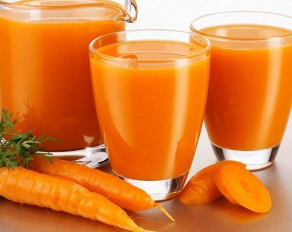 giảm cân bằng cà rốt