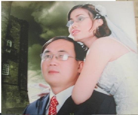 Chị Việt Anh, anh Xuân Trường (ảnh nhân vật cung cấp)