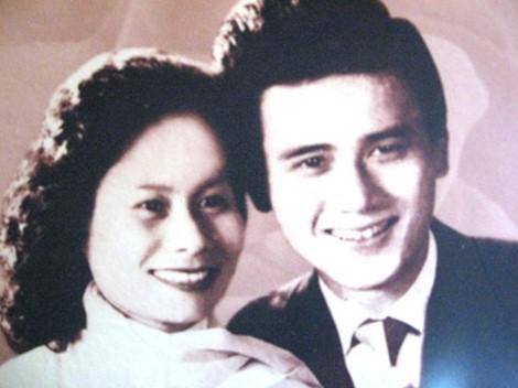 NSƯT Phạm Bằng và vợ.