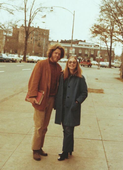 Hình ảnh Bill và Hillary khi còn là sinh viên trường đại học Luật Yale.