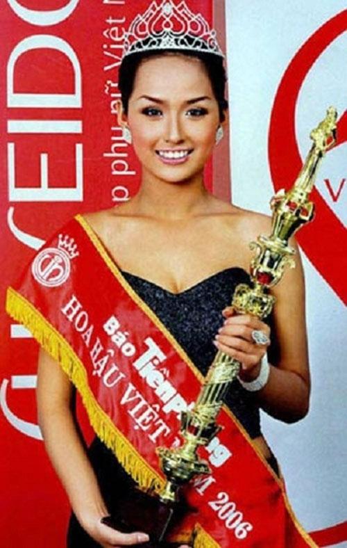 Năm 2006, cô tân sinh viên trường Đại học Ngoại thương Hà Nội giành vương miện Hoa hậu Việt Nam.