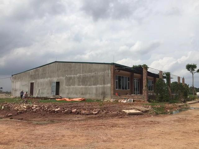 Dự án đầu tư xây dựng và kinh doanh hạ tầng làng nghề Mai Hương với quy mô 27ha chưa hề được phê duyệt ĐTM đã đi vào thi công