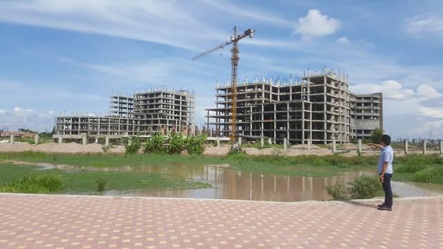 Dự án Bệnh viện 700 giường là một trong những dự án trọng điểm của Nam Định. Ảnh: PV