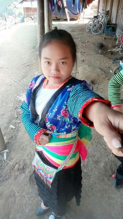 Em Thào Thị Mạnh, 17 tuổi, (bản Pha Lao, xã Phổng Lái, huyện Thuận Châu, tỉnh Sơn La) mất tích ngày 17/11 (ảnh gia đình cung cấp)