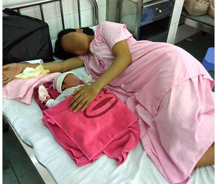 Mang thai ở tuổi vị thành niên khiến các em gái đối mặt với nhiều khó khăn trong cuộc sống. Ảnh: PV