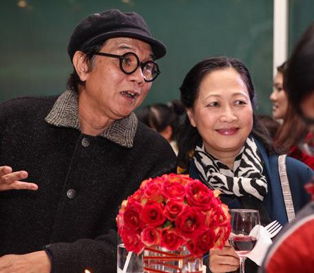 Vợ chồng nhiếp ảnh gia Nguyễn Hữu Bảo - NSND Như Quỳnh (ảnh gia đình cung cấp).