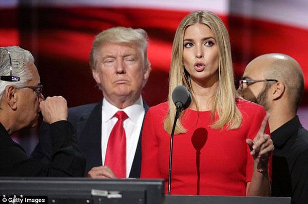 Ivanka Trump mâu thuẫn với cha trong sắc lệnh cấm người nhập cư.