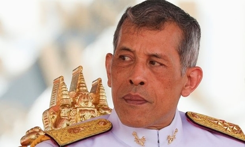 Vua Maha Vajiralongkorn. Ảnh: Reuters.