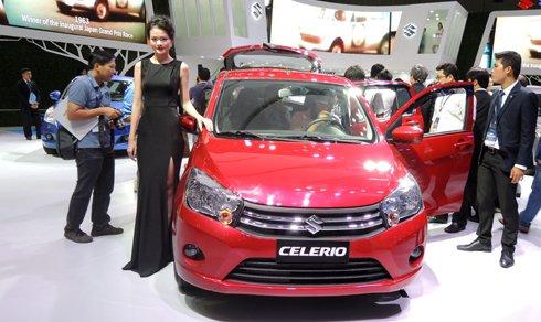 Suzuki Celerio sẽ là đối thủ đáng gờm của Hyundai Grand i10, Kia Morning và Toyota Wigo.