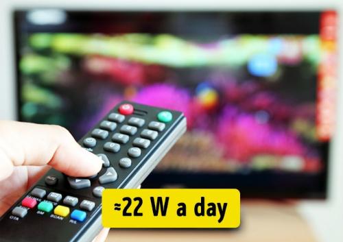 Đầu thu kỹ thuật số ở chế độ chờ tiêu tốn năng lượng khoảng 22 W một ngày.