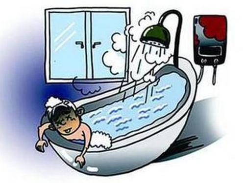 Bình nước nóng đun bằng khí gas chỉ phù hợp với nhà tắm rộng, thoáng, có quạt thông gió.
