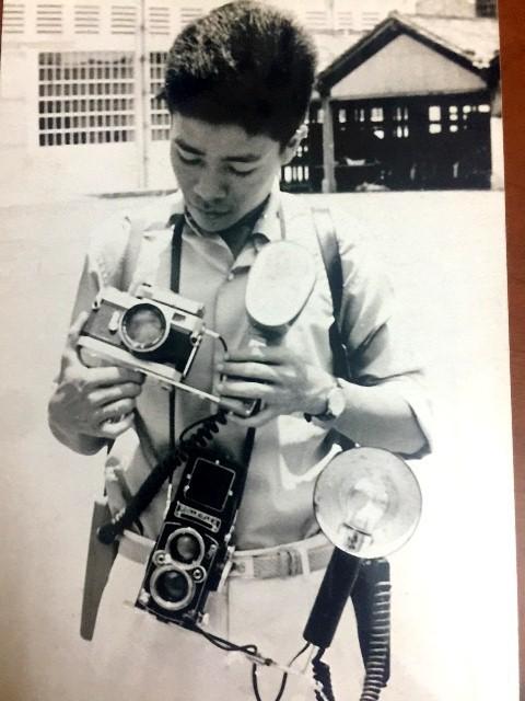 Khoảng năm 1963-1965, ông Hiệp từng là một phóng viên ảnh