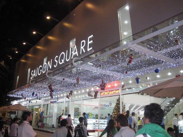 Cận cảnh trung tâm thương mại Sài Gòn Square, khối tài sản lớn của gia đình Phan Thành.