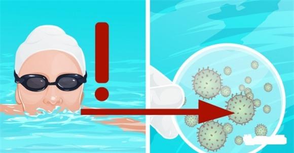 Khi đi bơi, tuyệt đối không làm việc này để tránh mắc các bệnh ...