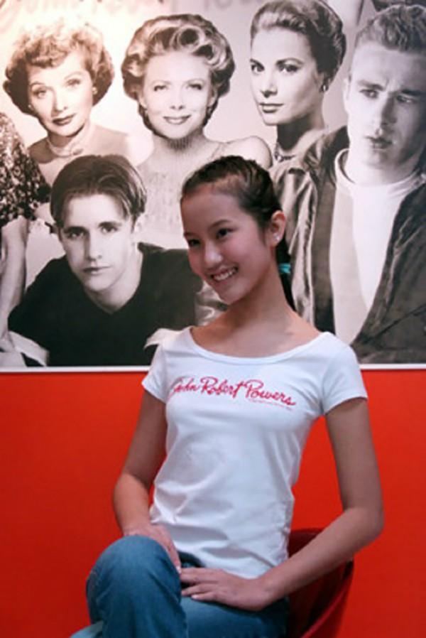 Nhan sắc thời tuổi teen của Primmy Trương.