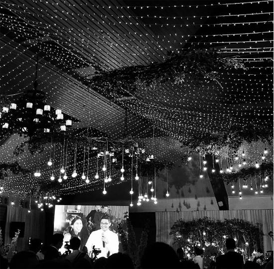 Không gian tiệc cưới sang trọng của Stephanie Nguyễn tại TP HCM.