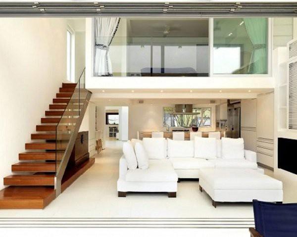Nhờ thiết kế tầng lửng hợp lý, căn nhà cấp 4 này trở nên đẹp và sang trọng không kém gì những ngôi nhà to nhiều tầng.