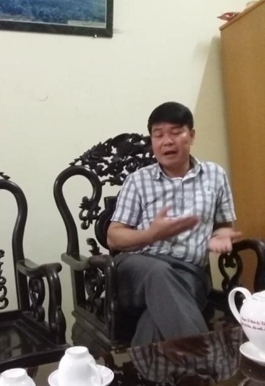 Ông Thắng cho rằng, Giám đốc Sở NN&PTNT tỉnh Hà Nam phát biểu thiếu hiểu biết, thiếu trách nhiệm.