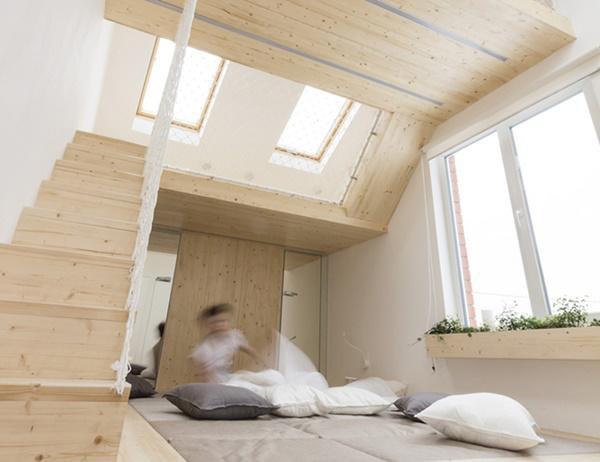 Dù chỉ có diện tích là 20m² nhưng nhờ sự khéo léo của kiến trúc sư mà chủ nhân vẫn được sở hữu một ngôi nhà như ý