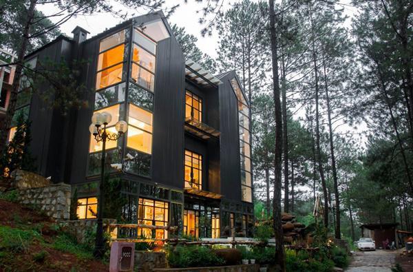 Biết vợ rất yêu Đà Lạt, vì chiều vợ nên chồng Phan Như Thảo đã quyết định mua mảnh đất rộng 500m2 ngay ở sườn đồi để xây dựng biệt thự.