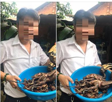 Người đàn ông khoe chim quý bị giết thịt lên facebook cá nhân gây xôn xao dư luận. Ảnh: TL
