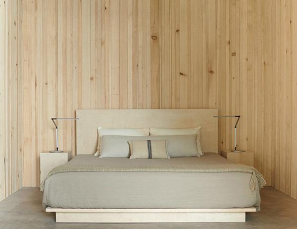 Không gian phòng ngủ tối giản, gọn gàng