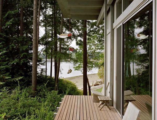 Tầm nhìn ra thiên nhiên đầy thư giãn và bình yên