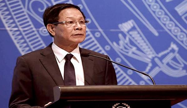 Ông Phan Văn Vĩnh khi còn đương chức. (ảnh: internet)
