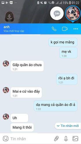 Ông H bác bỏ những tin nhắn được gia đình Q lưu giữ là của mình nhắn cho thiếu nữ này.
