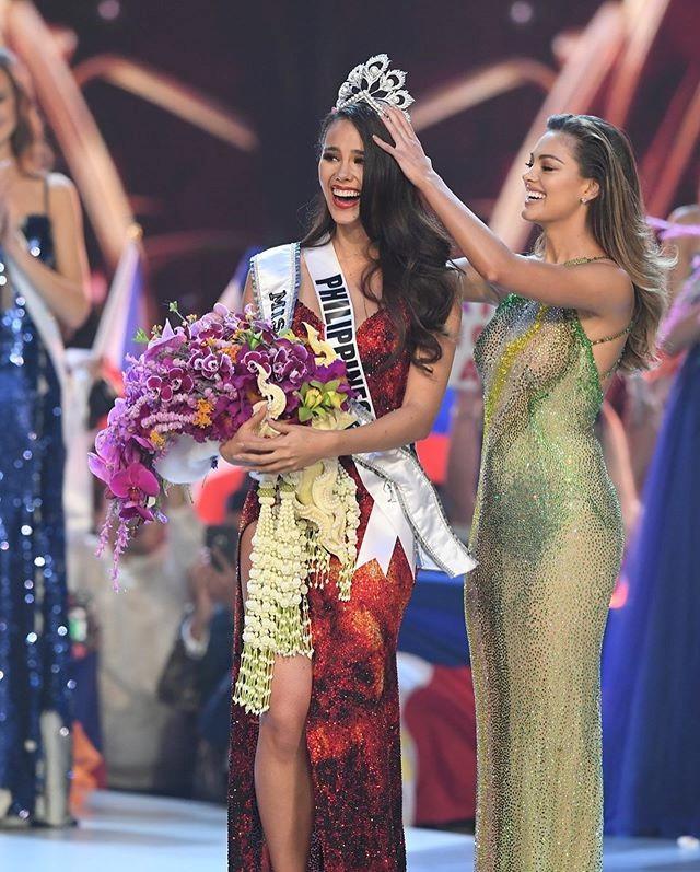Người đẹp 24 tuổi Catriona Gray đã giành vương miện Miss Universe lần thứ 67