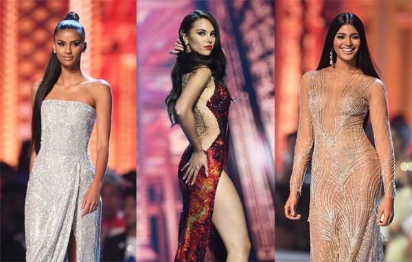 Top 3 nhan sắc chung cuộc Miss Universe 2018.