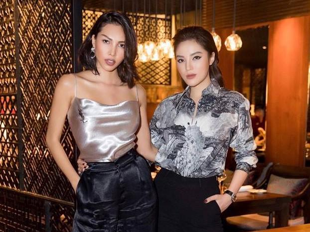 Kỳ Duyên và Minh Triệu thường xuyên đăng ảnh thân thiết với nhau trên mạng xã hội.