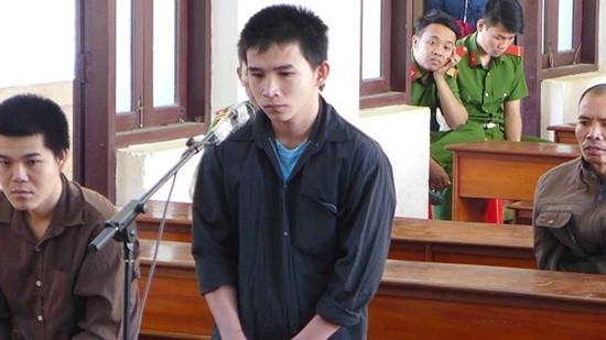 Bị cáo Trần Thanh Châu tại tòa