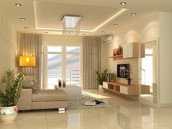 Xu hướng thiết kế có một hàng thạch cao ở xung quanh trần để lắp đặt thêm hệ thống chiếu sáng đang trở nên rất thông dụng.