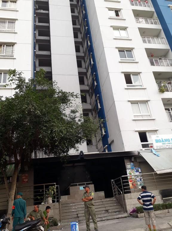 Cháy chung cư Carina Plaza, Công ty 577 chối bỏ trách nhiệm?