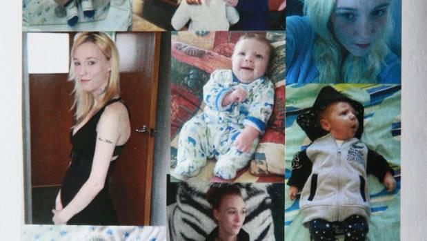 Những hình ảnh của người mẹ Katie và đứa con trai Ash. (Ảnh: Internet)