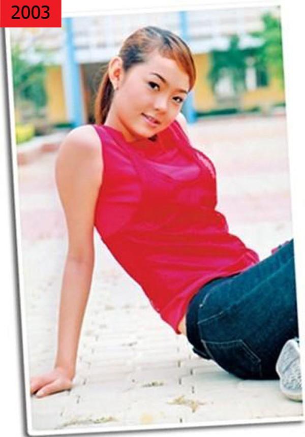 Minh Hằng thuở mới vào nghề. Lúc này, cô đang là người mẫu ảnh cho nhiều tạp chí tuổi teen thời bấy giờ.
