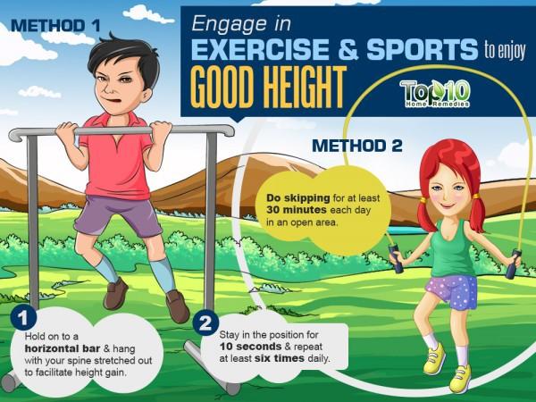 Nhảy dây và tập xà giúp tăng chiều cao