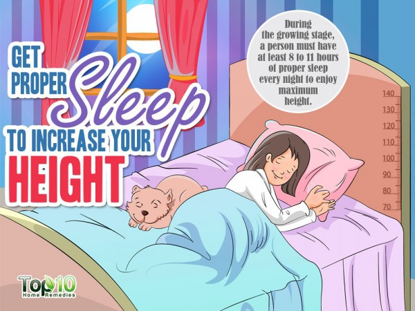 Ngủ đủ giấc giúp cải thiện chiều cao của bạn