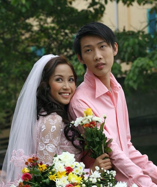 Ốc Thanh Vân và chồng cách đây 10 năm