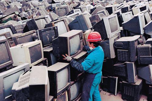 Trung Quốc hỗ trợ thu thập đồ điện tử cũ tại nhà.