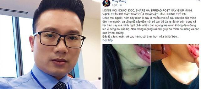 Em Thùy Dung tố bị BTV Minh Tiệp bạo hành trong nhiều năm.