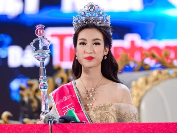 Nhan sắc khi đăng quang của Hoa hậu Việt Nam 2016, Đỗ Mỹ Linh.