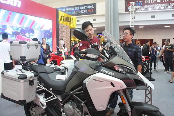 Thị trường xe mô tô phân khối lớn được các hãng xe đánh giá là một thị trường nhiều tiềm năng.