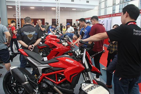 Hãng Ducati trưng bày tới 26 mẫu xe tại triển lãm lần này.