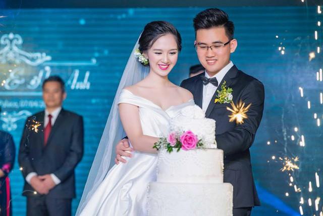 Diễn viên Đỗ Hà Anh trong ngày cưới