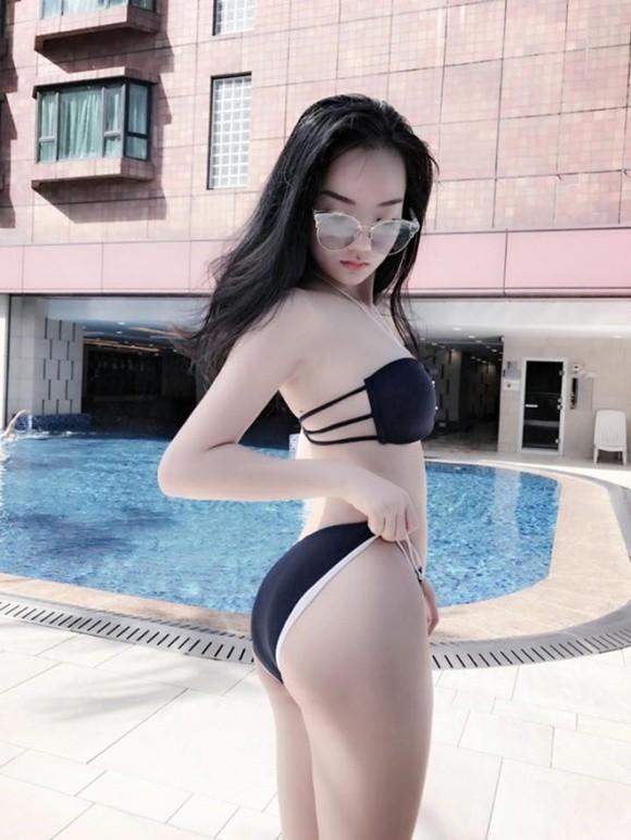 Cô gái được Phan Hải tán tỉnh trong phim Người phán xử tiền truyện sở hữu thân hình nóng bỏng khi diện bikini.