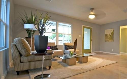 Để có không gian ưng ý, đẹp hài hòa, cần lên ý tưởng, thiết kế tổng thể trước khi sắm đồ đạc. Ảnh: Jaenin.