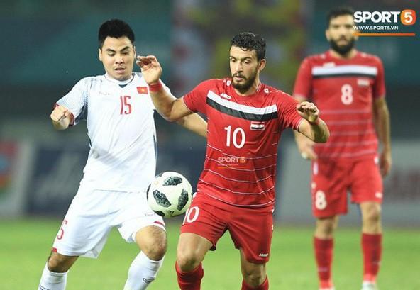 Cầu thủ Đức Huy được BTC đưa đi kiểm tra doping bất ngờ sau trận tứ kết gặp U23 Syria